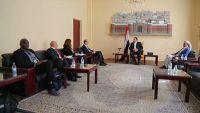 الصماد مخاطبا نائب المبعوث الأممي: جاهزون للتفاوض وما قبل هذه الزيارة ليس كبعدها