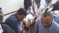 إصابة مدنيين بينهم أطفال في قصف للمليشيا مناطق بتعز