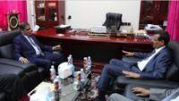 النائب العام يناقش مع البحسني تفعيل أجهزة القضاء بحضرموت