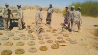 الجيش الوطني يعلن مقتل خمسة من خبراء الألغام الحوثيين في جبهة ميدي