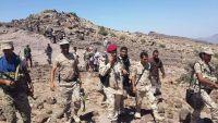 الجيش الوطني يستعيد مواقع جديدة غرب وشرق مدينة تعز