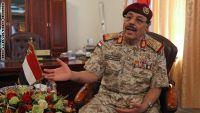 الفريق محسن يطلع على انتصارات الجيش في تعز