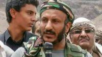طارق صالح يتواجد بمعسكر القوات الإماراتية بعدن