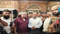 محافظ الحديدة يتفقد مديرية حيس بعد تحريرها من الحوثيين