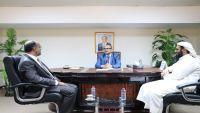 السعدي يناقش مع رئيس الهيئة اليمنية الكويتية تنسيق الجهود الإغاثية للمرحلة المقبلة