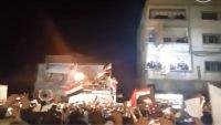 اللواء 22 ميكا يوقد شعلة فبراير في الجبهة الشرقية لمدينة تعز