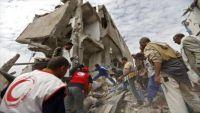 الحديدة.. مقتل وإصابة تسعة مدنيين من أسرة واحدة في قصف للتحالف بالجراحي