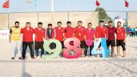 """تأهل اليمن ومصر لنهائي """"الجاليات"""" ببطولة 98.4 للألعاب الشاطئية"""