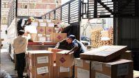 16 شاحنة من الأدوية تصل صنعاء بدعم من البنك الدولي لتسع محافظات يمنية