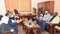 وفد أممي يلتقي قيادات المجلس الانتقالي الجنوبي في عدن