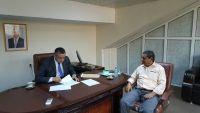 دماج يطلع على مستوى انجاز إعادة تأهيل مبنى الأدباء والكتاب اليمنيين