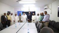 """مكتب الأمم المتحدة """"الأوتشا"""" بعدن يستقبل أعضاء الوفد الكويتي الإغاثي"""