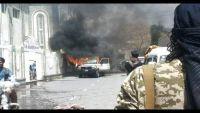 تعز .. انفجار عبوة ناسفة في سوق شعبي وإصابة ستة مدنيين