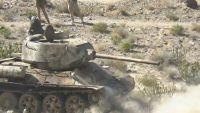 مقتل عدد من عناصر الحوثي خلال تصدي الجيش لهجوم في جبهة مريس