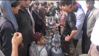 """""""الوائلي"""" يوجه باتخاذ اجراءات بحق المتلاعبين بمادة الغاز المنزلي في إب"""