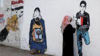 هيفاء سبيع.. فنانة يمنية تشكو للجدران مأساة شعبها