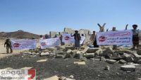 قيادة جبهة صرواح تحيي الذكرى الأولى لاستهداف الحوثيين جامع كوفل أثناء صلاة الجمعة