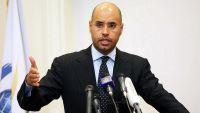 """سيف الإسلام القذافي يعلن الترشح لرئاسة """"ليبيا"""""""