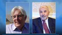 اليدومي يناقش مع المبعوث الأممي سبل عودة المشاورات في اليمن