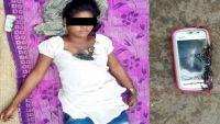 فتاة تلقى حتفها بسبب انفجار مفاجئ أثناء استخدام الهاتف (صور)