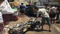 انفجار عبوة ناسفة في طقم عسكري تابع لقيادة محور تعز وإصابة ثمانية مدنيين