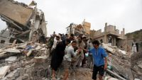 طائرات التحالف تصطاد أطفال اليمن