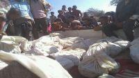 مقتل 16 مدنيا بغارات للتحالف في تعز (صور)