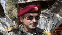 نجل صالح يلتقي دبلوماسياً روسياً بأبوظبي