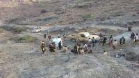 قيادة محور تعز تنفي قطع الحوثيين لطريق هيجة العبد