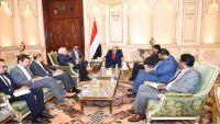 المبعوث الأممي يوضح للرئيس هادي خارطة رؤيته الجديدة للمفاوضات