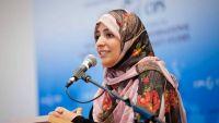 كرمان تجدد دعوتها للرئيس هادي بإنهاء التواجد الإماراتي في البلاد