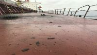 التحالف يفتح تحقيقا بشأن السفينة التركية التي وقع بها انفجار قرب ميناء الحديدة