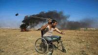 أبو صلاح.. شهيد بغزة يترجل عن كرسيه المتحرك