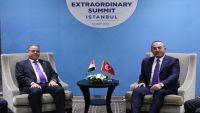 تركيا تتعهد بتزويد اليمن بسحابات السفن ومولدات كهربائية