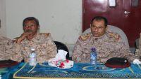 قائد وأركان حرب المنطقة العسكرية الخامسة يزوران جرحى المنطقة