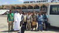 الزبيدي يصل عدن بعد مغادرة الميسري إلى أبوظبي