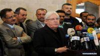 """المبعوث الأممي يصل صنعاء للتشاور مع """"الحوثيين"""" حول استئناف المفاوضات"""