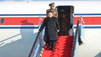 كيم يصل سنغافورة على متن طائرة خاصة وترامب في طريقه للقمة