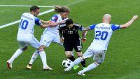 أيسلندا تحرج الأرجنتين وميسي بتعادل مثير