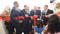 الرئيس هادي يدشن حزمة من مشاريع الاتصالات والانترنت في عدن بكلفة مائة مليون دولار