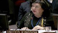 مندوبة بريطانيا في الأمم المتحدة: بقاء ميناء الحديدة مفتوحا في أعلى سلم أولوياتنا
