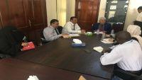 الحكومة تناقش مع اليونيسيف قضايا التحصين والتدخلات العاجلة بالحديدة