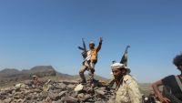 قوات من اللواء 35 مدرع تهاجم أول مواقع الحوثيين في خدير شرقي تعز