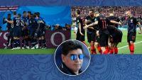 فرنسا وكرواتيا.. مارادونا يرشح هذا المنتخب للفوز بكأس العالم