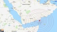 زلزال بقوة 6،2 يضرب قبالة السواحل اليمنية