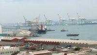 ميناء عدن يحقق مناولة مرتفعة هي الأكبر خلال ثمان سنوات الماضية