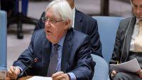 غريفيث يطلع وزير خارجية أمريكا على معلومات محدثةلتسوية النزاع باليمن