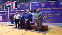 اليمن يحقق خمس برونزيات وفضية في البطولة العربية للمصارعة بمصر