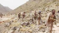 الجيش الوطني يسيطر على سلسلة من الجبال المحيطة بمركز مديرية باقم بصعدة