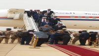 الرئيس هادي يصل محافظة المهرة